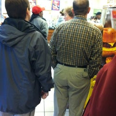 Photo taken at Dunkin Donuts by Abby Rose on 3/1/2012
