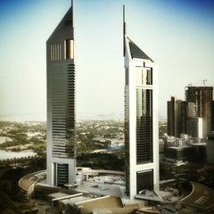 Photo taken at Emirates Towers أبراج الإمارات by Shayne H. on 8/23/2012