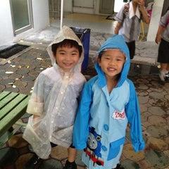 Photo taken at Playground by Pat B. on 9/5/2012
