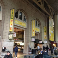 Photo taken at South Station Food Court by Andrew B. on 3/29/2012