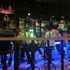 Photo taken at Travellers Bistro & pub by Ted on 9/1/2012