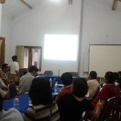 Photo taken at Pondok Remaja PGI by Benjamin I. on 2/10/2012