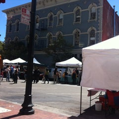 Photo taken at Old Oakland Farmers' Market by Rachael L. on 8/10/2012