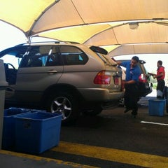 Photo taken at Francis & Sons Car Wash by Maria L. on 4/17/2012