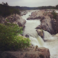 Photo taken at Great Falls National Park by Dan S. on 6/12/2012