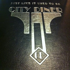 Photo taken at City Diner by Saida on 7/10/2012