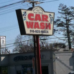 Photo taken at Squeaky Clean of Valley Stream Car Wash by Geoff W. on 3/19/2012