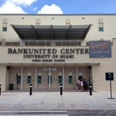Photo taken at BankUnited Center by Gregg Rory H. on 8/4/2012