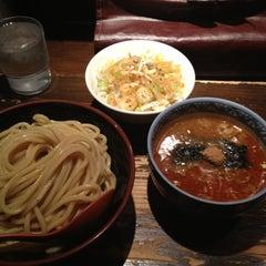 Photo taken at 三田製麺所 恵比寿南店 by koichi i. on 4/6/2012