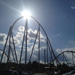 Photo taken at Carowinds by Christine on 7/15/2012