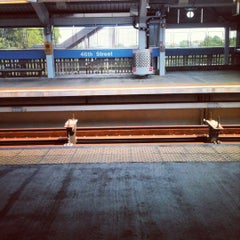 Photo taken at SEPTA: MFL 46th Street Station by Marquis F. on 7/7/2012
