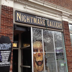 Photo taken at Count Orlock's Nightmare Gallery by ☠Bill C. on 3/16/2012