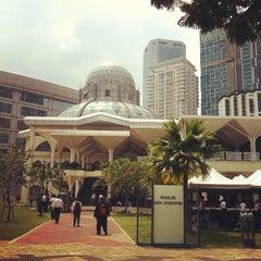 Photo taken at Masjid Asy-Syakirin by Sol B. on 6/29/2012