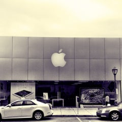 Photo taken at Apple Store, Suburban Square by Jody F. on 6/18/2012