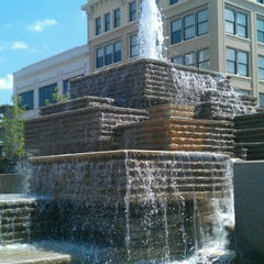 Photo taken at Park Central Square by Marilee T. on 6/18/2012