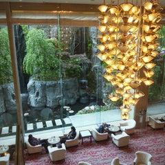 Photo taken at ANAクラウンプラザホテル京都ANA CROWNE PLAZA KYOTO Hotel by つっさん on 5/4/2012