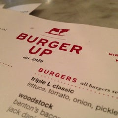 Photo taken at Burger Up by Daryn S. on 5/13/2012
