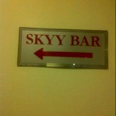 Photo taken at Skyy Bar by Drajat W. on 5/25/2012