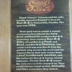 Photo taken at Sonny's BBQ by Don Jay on 7/12/2012