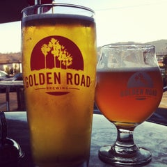 Photo taken at Golden Road Brewing by Lindsay W. on 8/6/2012