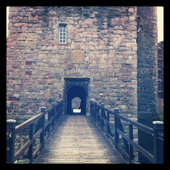 Photo taken at Rothesay Castle by Jim M. on 7/28/2012