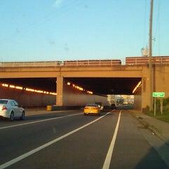 Photo taken at Hicks-Ellis Tunnel by Tim Hobart M. on 3/27/2012