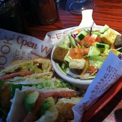 Photo taken at Red Robin Gourmet Burgers by Sarah A. on 4/25/2012