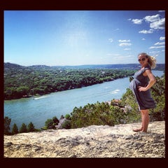 Photo taken at Covert Park at Mt. Bonnell by Jason C. on 4/22/2012