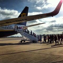 Photo taken at Manchester International Airport (MAN) by Joel G. on 9/7/2012