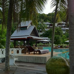 Photo taken at Salad Buri Resort by Sasha on 4/15/2012