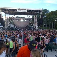 Photo taken at Bayfront Park Amphitheater by Ayla B. on 7/14/2012