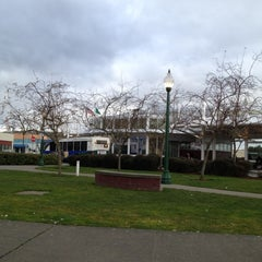 Photo taken at Olympia Transit Center by brooke on 3/4/2012