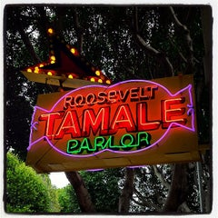 Photo taken at Roosevelt Tamale Parlor by Lisa on 3/17/2012