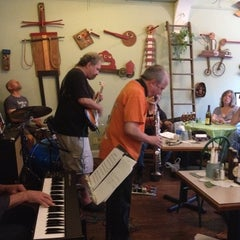 Photo taken at Magnolia's Cafe by Lisa K. on 6/2/2012