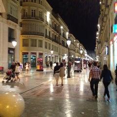 Photo taken at Calle Marqués de Larios by Tony T. on 5/26/2012