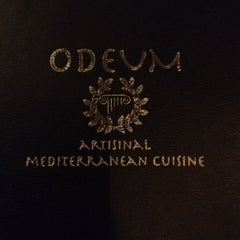 Photo taken at Odeum-Mediterranean Cuisine by Tim P. on 2/18/2012