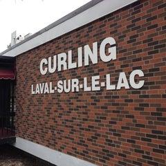 Photo taken at Curling Laval-sur-le-Lac by Vincent C. on 4/26/2012