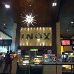 Photo taken at INOX Movies by Rachita K. on 4/7/2012