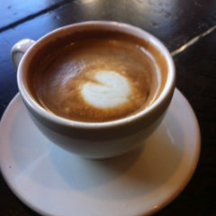 Photo taken at Bourbon Coffee DC by Nicole d. on 4/19/2012