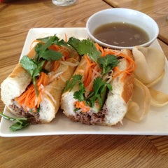 Photo taken at Xoia Vietnamese Eats by Sidney N. on 5/11/2012