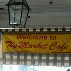 Photo taken at The Market Cafe by Felicia V. on 6/2/2012