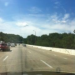 Photo taken at American Legion Memorial Bridge by Greg K. on 7/27/2012