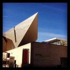 Photo taken at Denver Art Museum by nikhil t. on 3/23/2012