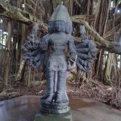 Photo taken at Kauai Hindu Monastery by Bill K. on 5/18/2012