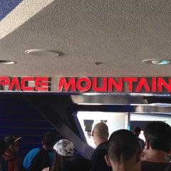 Photo taken at Space Mountain by Darin M. on 6/8/2012