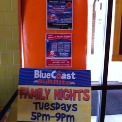 Photo taken at Blue Coast Burrito by Bryan T. on 6/4/2012