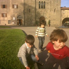 Photo taken at abbazia san salvatore by Francesco G. on 5/11/2012
