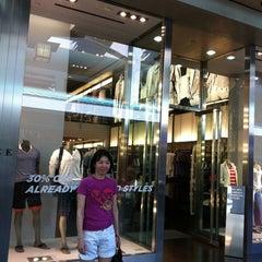 Photo taken at A|X Armani Exchange by Adjani on 5/1/2012