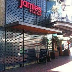 Photo taken at Jamie's Italian by Maria on 8/17/2012