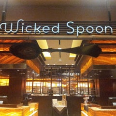 Photo taken at Wicked Spoon by Ayk B. on 6/23/2012